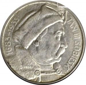 II Rzeczpospolita, 10 złotych 1933, Sobieski - GCN AU58