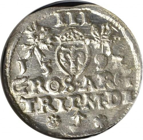 Zygmunt III Waza, Trojak 1592 Wilno