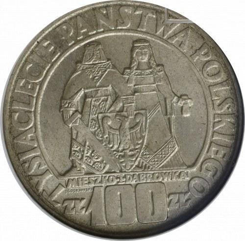 PRL, 100 złotych 1966 Mieszko i Dąbrówka - GCN MS69