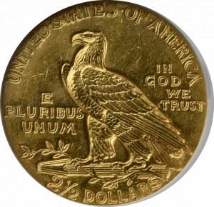 USA, 2 1/2 dolara 1928 - GCN AU50
