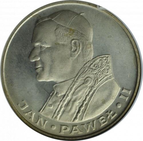 PRL, 1000 złotych 1982 Jan Paweł II, srebro - GCN MS69