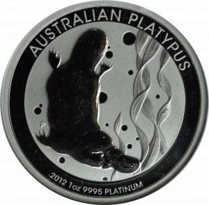 Australia, 100 Dolarów 2012, Platyna - GCN PR69