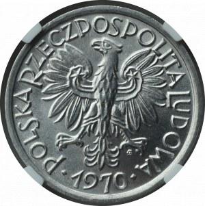 PRL, 2 Złote 1970 Jagody - NGC MS66