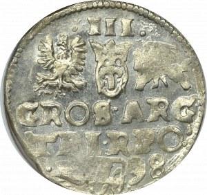 Zygmunt III Waza, Trojak 1598 Wschowa