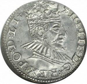 Zygmunt III Waza, Trojak 1590 Ryga