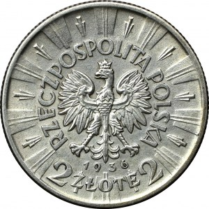 II Rzeczpospolita, 2 złote Piłsudski 1936