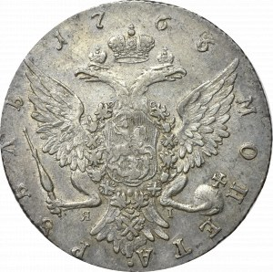 Rosja, Katarzyna II, Rubel 1766