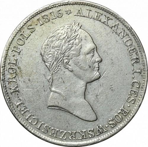 Królestwo Kongresowe, Mikołaj I, 5 złotych 1831 KG Warszawa