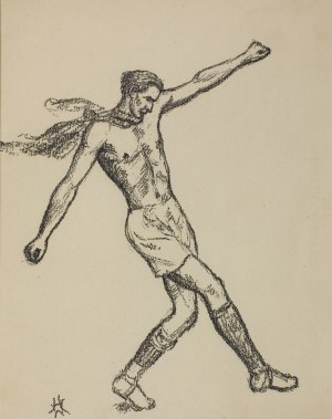 Wlastimil Hofman (1881-1970), Obrona piłki, [1928]