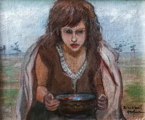 Wlastimil Hofman (1881-1970), Dziewczynka