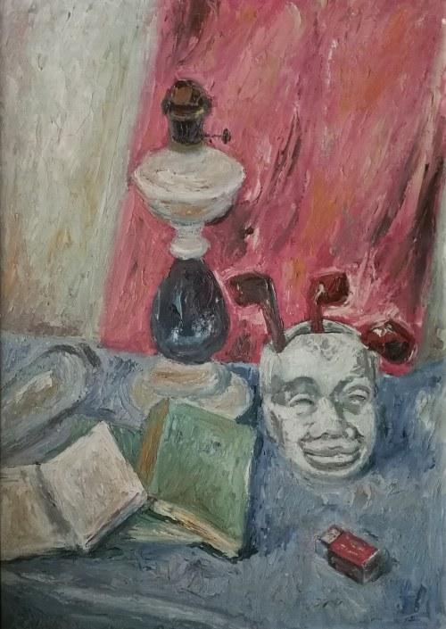Jan Piotr Hrynkowski (1891 – 1971), Martwa natura z maską
