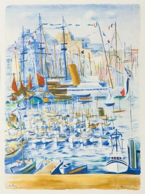 Mojżesz (Moise) Kisling (1891-1953), W porcie, [1950]