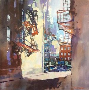 Piotr Zawadzki, NYC - migotanie poranka, 2018