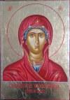 Zofia Dobrzańska Ikona Matki Bożej
