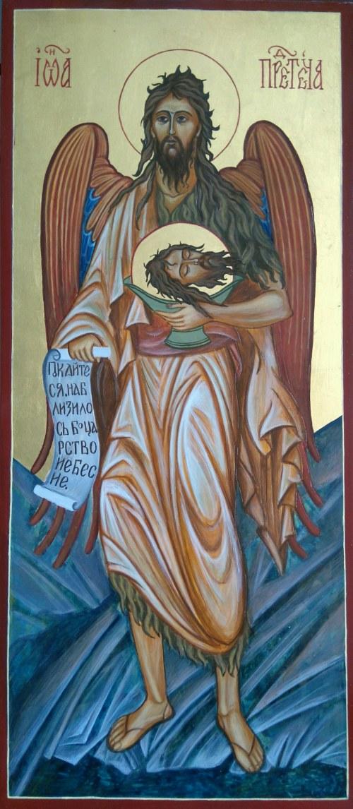 Zofia Dobrzańska Jan Chrzciciel (Anioł Pustyni)