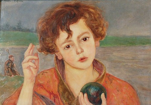 Wlastimil HOFMAN (1881-1970), Dziecię - Pantokrator