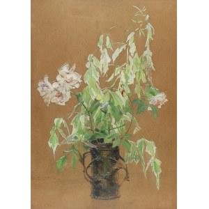 Tadeusz STYKA (1889 - 1954), Kwiaty w wazonie