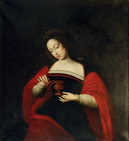 Malarz nieokreślony, XVII - pocz. XVIII w., Święta Maria Magdalena