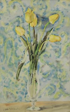 Stanisław WESTWALEWICZ (1906-1997), Tulipany w wazonie