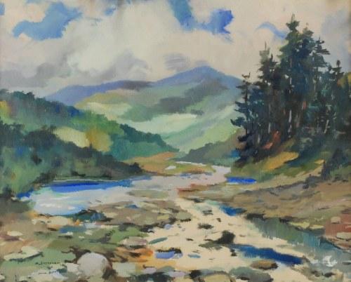 Antoni SUCHANEK (1901-1982), Dolina Skawy, 1936