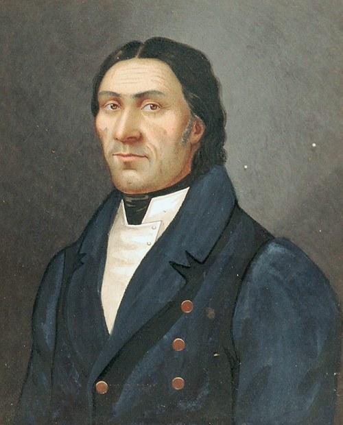 Anton BOSCH ? (XIX w.), Portret Jakuba Wohla