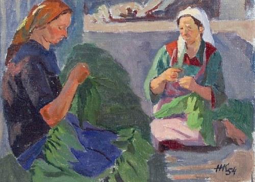 Helena KRAJEWSKA (1910-1998), Tytoniarki, 1954