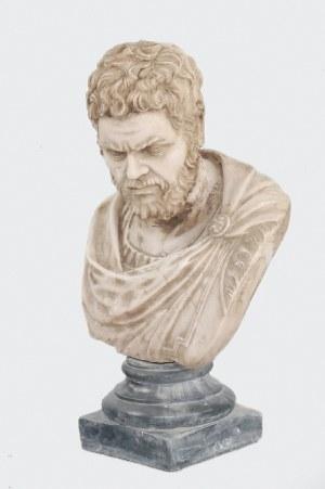 Popiersie rzymskiego dostojnika (cesarza?)