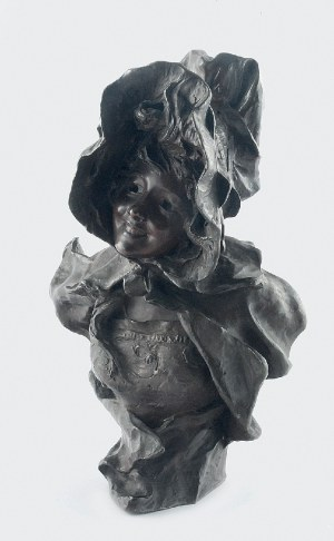 Georges VAN DER STRAETEN (1856-1928), Popiersie kobiety w czepcu