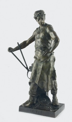 Émile Louis PICAULT (1833-1915), Le Fer (Żelazo)