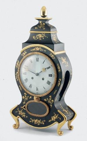 Uhrenfabrik LORENZ FURTWÄNGLER & SOHNE (zał. w 1836), Zegar konsolowy, neorokokowy