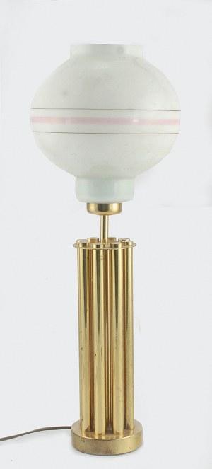 Lampa gabinetowa, elektryczna, w typie art-deco
