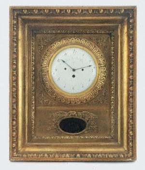 GASPAR BRANDL (syn Antona?; czynny ok. poł. XIX w.), Zegar ścienny ramowy