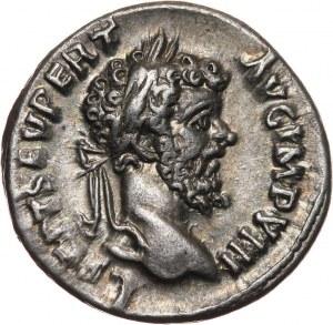 Cesarstwo Rzymskie, Septymiusz Sewer 193-211, denar, Rzym