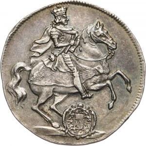 August II Mocny, 1/4 talara wikariackiego 1711 ILH, Drezno