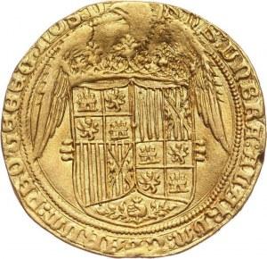 Hiszpania, Ferdynand V i Izabela I, 4 Excelentes bez daty (1476-1516) P, Segowia