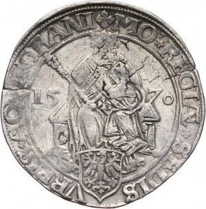 Germany, Aachen, Thaler 1570, with title of Maximilian II