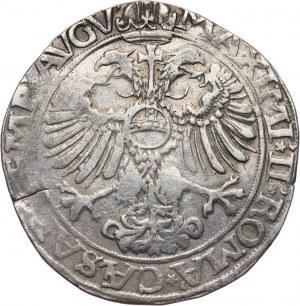 Niemcy, Aachen, talar 1570, z tytulaturą Maksymiliana II