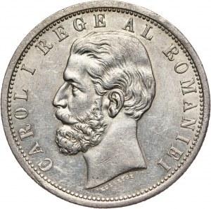 Rumunia, Karol I, 5 lei 1901