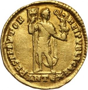Cesarstwo Rzymskie, Walentynian I 364-375, solidus, Antiochia