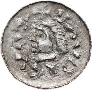 Władysław I Herman 1081-1102, denar z podwójnym pierścieniem