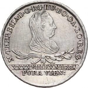 Księstwo Oświęcimsko-Zatorskie, Maria Teresa, 30 krajcarów 1775 IC FA, Wiedeń