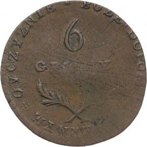 Oblężenie Zamościa 1813, 6 groszy 1813, Zamość