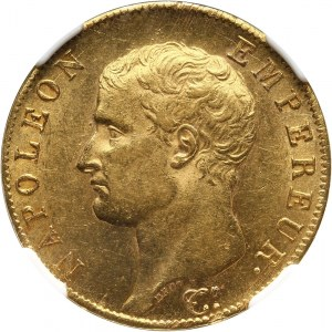 Francja, Napoleon I, 40 franków AN 13 A, Paryż