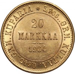 Finlandia, 20 marek 1904 L, Helsinki