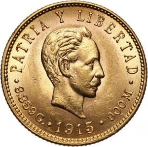 Kuba, 5 pesos 1915