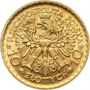 II RP, 10 złotych 1925, Warszawa, Bolesław Chrobry