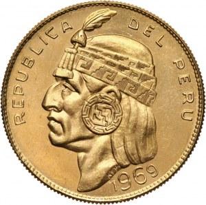 Peru, 50 soli 1969, Indianin