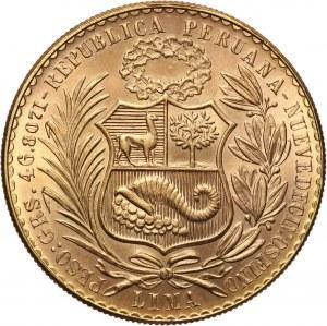 Peru, 100 soli 1966