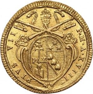 Watykan, Państwo Kościelne, Pius VII, doppia rok XVIII (1817)
