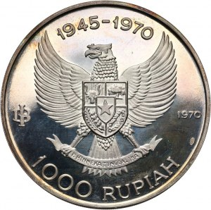 Indonezja, 1000 rupii 1970, generał Sudirman